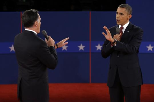 Barack Obama has hit out at Republican Mitt Romney during a feisty 90-minute encounter in the second of three presidential debates