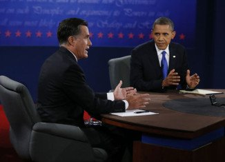 Barack Obama won the third presidential debate against his rival Mitt Romney say to two instant polls released by CNN and CBS News