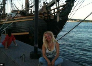 Claudene Christian, a crew member of the storm-hit tall sailing HMS Bounty, has been pronounced dead in hospital after being rescued at sea