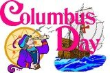 Columbus Day is celebrated annually on the second Monday of October
