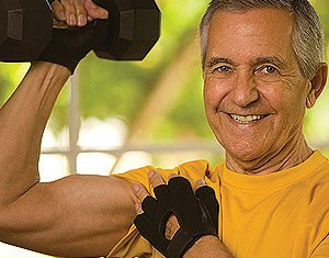 Exercising in your 70's may stop your brain from shrinking and showing the signs of ageing linked to dementia