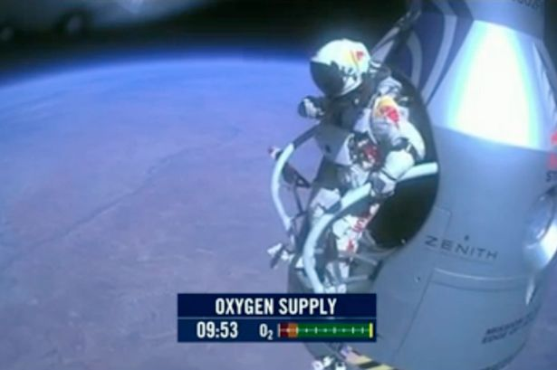 Felix Baumgartner has become the first skydiver to go faster than the speed of sound