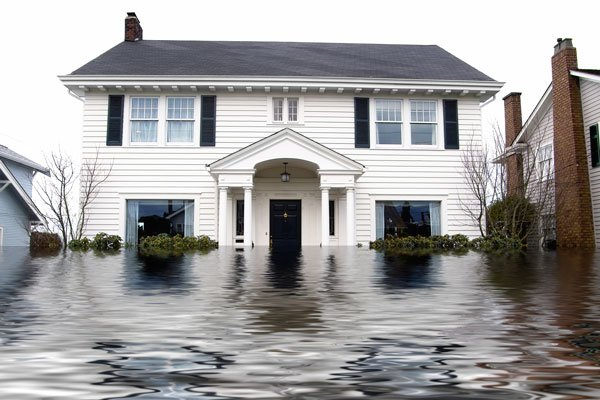 Homeowners insurance does not cover flood damages.