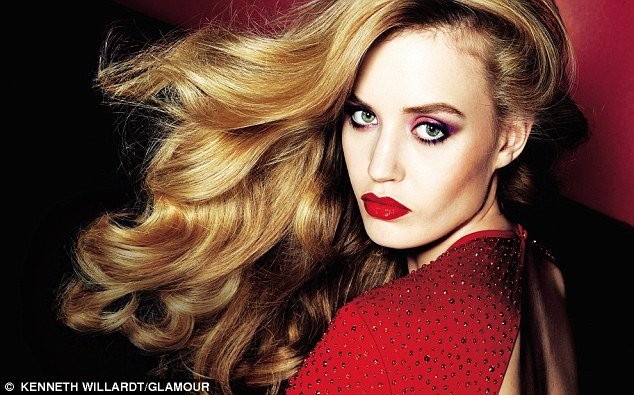 Georgia May Jagger recreated Jerry Hall's most famous look in a photo shoot for Glamour magazine