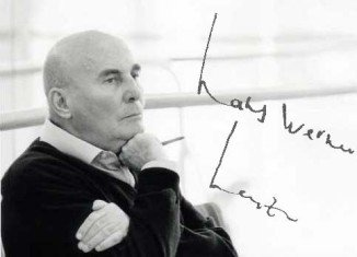 German composer Hans Werner Henze has died at the age of 86