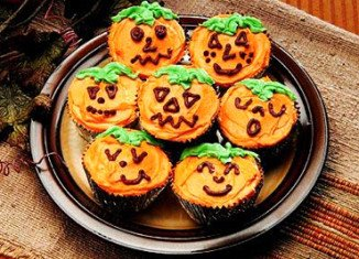 Halloween cupcakes the great pumpkin cakes