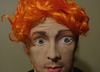 Halloween mask of alleged Colorado shooter James Holmes was put on eBay for $500 by an anonymous seller