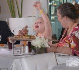 Honey Boo Boo on Tuesday at Real Housewives of Beverly Hills star Lisa Vanderpump's restaurant, Villa Blanc