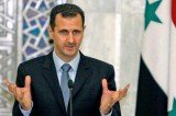 International peace envoy Lakhdar Brahimi has met Syria's president Bashar al-Assad in Damascus