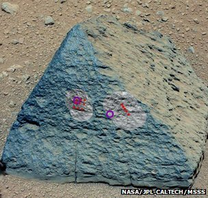 Jake Matijevic rock found on Mars by Curiosity rover