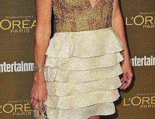 Jennie Garth cut a noticeably slimmer figure