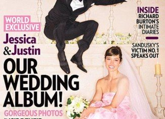 "Justin Timberlake has described his wedding to Jessica Biel as a ""total fantasy"""