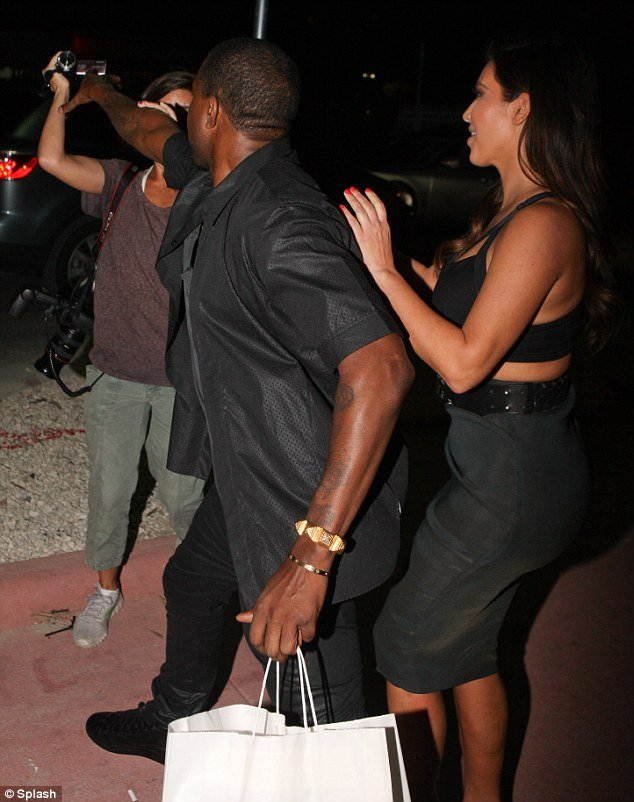 Kanye West flew into a fit of rage when a camerawoman outside of Prime 112 eatery asked the singer if he congratulated Reggie Bush