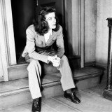 Katharine Hepburn was an early pioneer of androgynous fashion