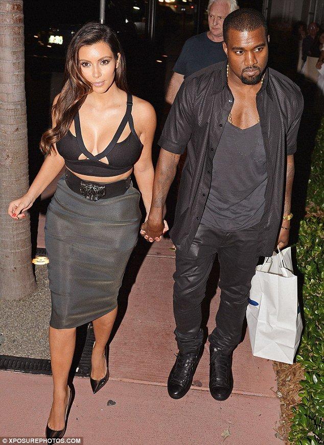 kim kardashian and kanye west started dating