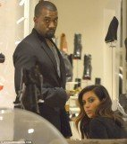 Kim Kardashian and Kanye West are currently in Rome on vacation to celebrate Kim's 32nd birthday on Sunday