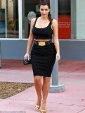 Kim Kardashian returned to Florida to continue filming spin-off series Kourtney & Kim Take Miami
