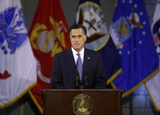 Mitt Romney has called for a change of course in the Middle East, criticizing President Barack Obama on foreign policy