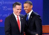 Mitt Romney leads Barack Obama by 12 points among men, ahead of tonight's second presidential debate