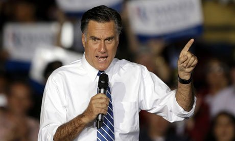 Mitt Romney in Denver