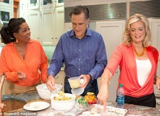 Mitt and Ann Romney have opened up to Oprah Winfrey for the first time