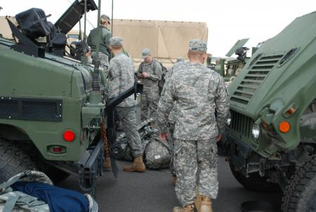 National Guard and local authorities are underway for East Coast residents who had failed to heed the mandatory evacuation issued ahead of Hurricane Sandy