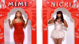 Nicki Minaj was allegedly rude to Mariah Carey on the set of the music video Up Out My Face back in 2010