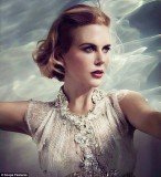 Nicole Kidman looks sensational in a portrait where she has the Princess of Monaco's glamorous style down to perfection