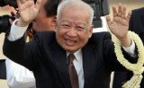 Norodom Sihanouk died at a hospital in Beijing after having a heart attack