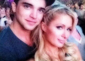 Paris Hilton was linked to River Viiperi for the first time in September