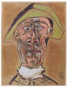 Picasso's Tete d'Arlequin