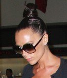 "Popular with Victoria Beckham and Katie Holmes, topknots pull the forehead taut giving wearers a ""naturally"" Botoxed appearance"