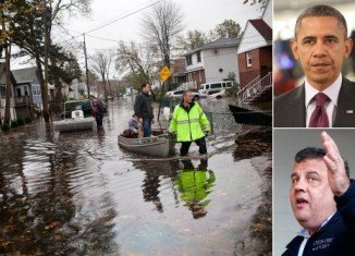 President Barack Obama is visiting the state of New Jersey, to survey the devastation two days after Hurricane Sandy made landfall nearby