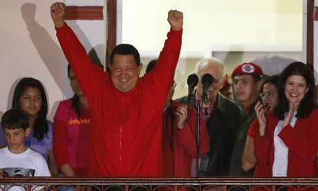 President Hugo Chavez has won a fourth term in office