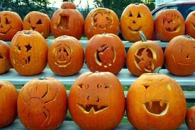 Pumpkin Faces - Halloween Kids Crafts - Kids Craft Zone
