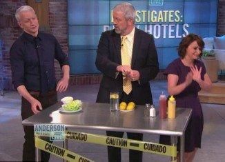 Restaurants' horrifying hidden germs revealed by Anderson Cooper