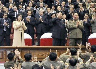 Ri Sol-ju made her public appearance joining Kim Jong-un at a football match and a musical concert on Monday
