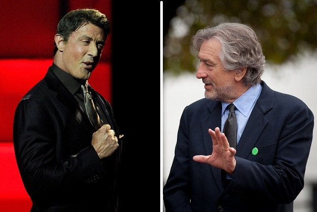 Robert De Niro and Sylvester Stallone are returning to the boxing ring in the forthcoming comedy Grudge Match