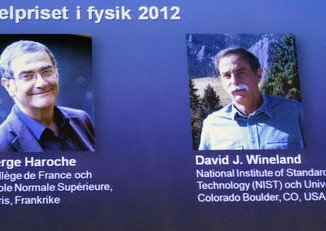 Serge Haroche and David Wineland share 2012 Nobel Prize in Physics