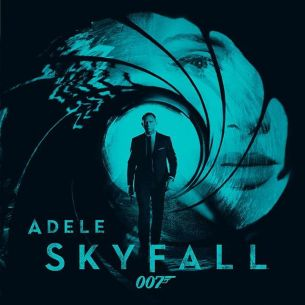 Skyfall, the new James Bond theme sung by Adele, has topped the iTunes chart