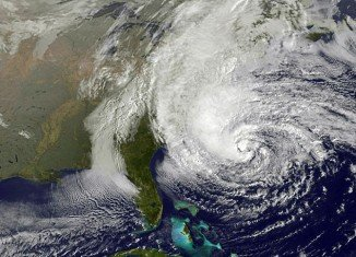 The Frankenstorm is the mash-up of Hurricane Sandy from the South and an unnamed nor'easter gaining strength as it moves from the West