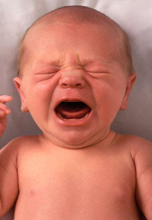 The sound of a crying baby is almost impossible to ignore, no matter how hard you try