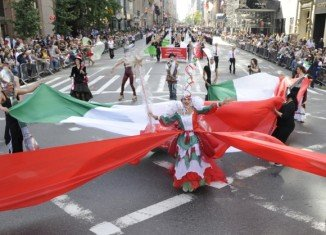 This year, the annual Columbus Day Parade in NYC takes place on Monday, October 8