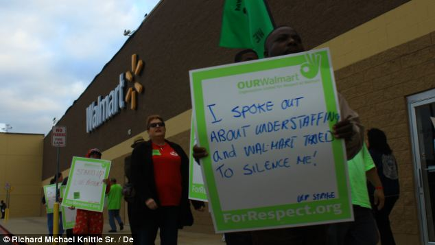 Walmart workers are threatening to strike on Black Friday, the busiest shopping day of the year