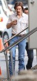 A shrinking Matthew McConaughey reported for his first day on the New Orleans set of The Dallas Buyers Club Sunday
