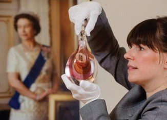 Adamas is a perfume created especially for the Queen by the RSC as a Diamond jubilee Christmas present