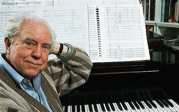 American classical composer Elliott Carter has died at the age of 103