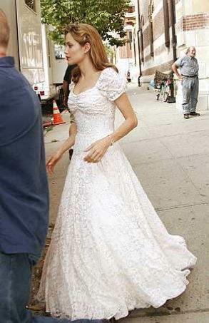 Angelina Jolie wedding dress to be created by L'Wern Scott