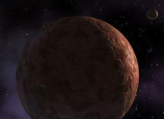 Astronomers have obtained an important first look at the dwarf planet Makemake finding it has no atmosphere