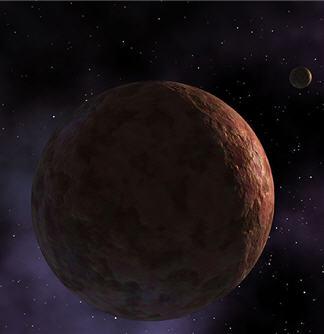 Dwarf planet Makemake has no atmosphere